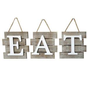 Barnyard Designs EAT Sign Wall Decor
