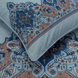 Pastel Blue T-150 Quilt Cover Set